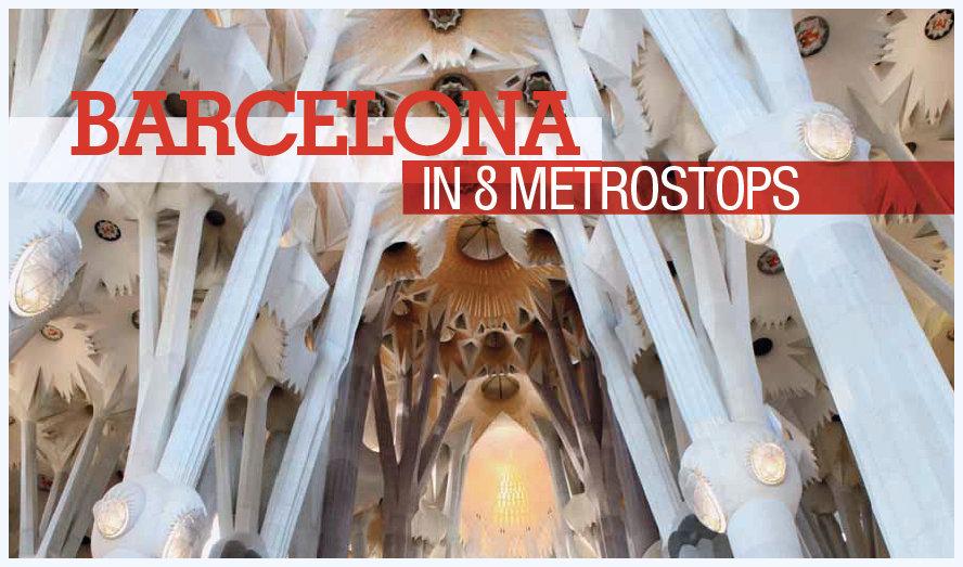 Barcelona in acht metrostops