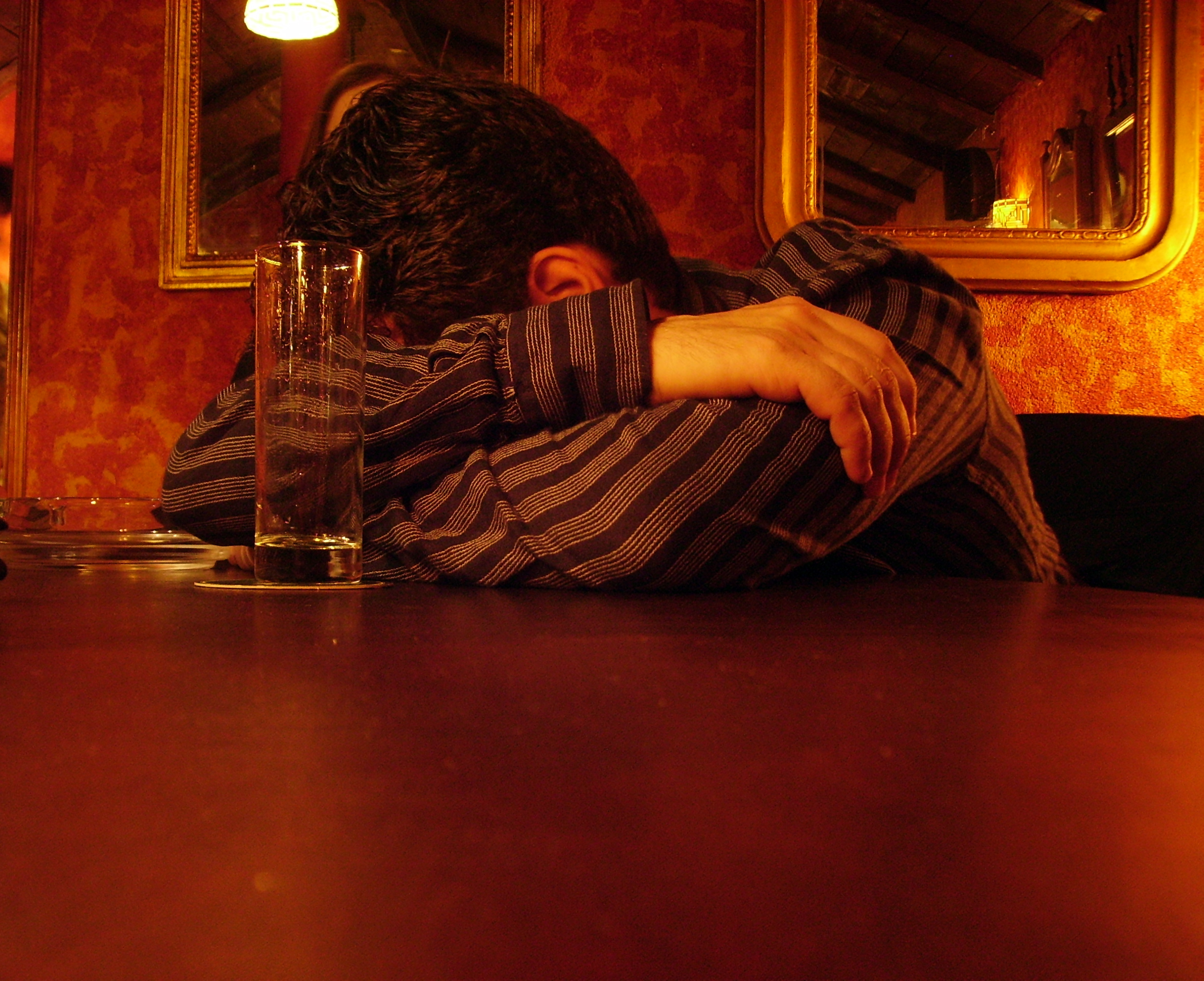 Drank maakt depressief