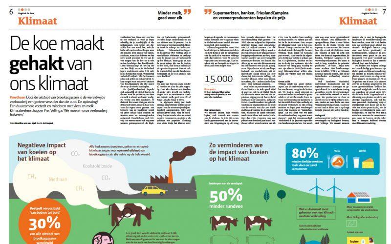 Wetenschap: koe maakt gehakt van ons klimaat