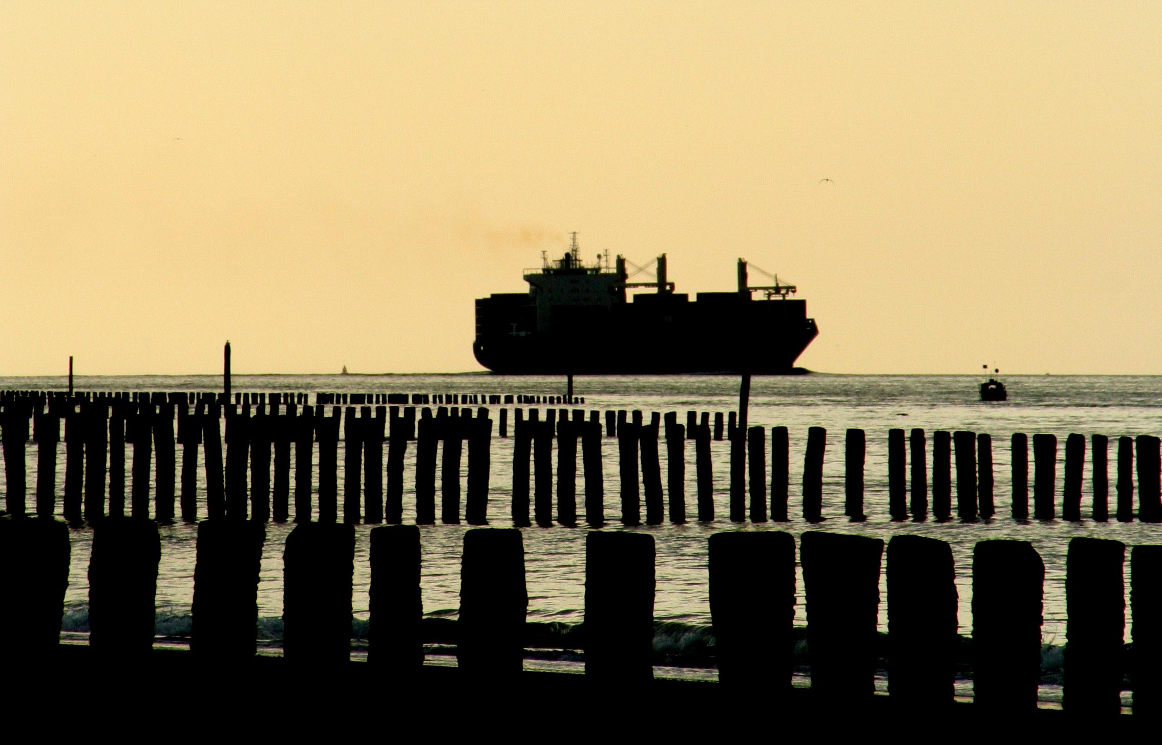Vakantie op een containerschip