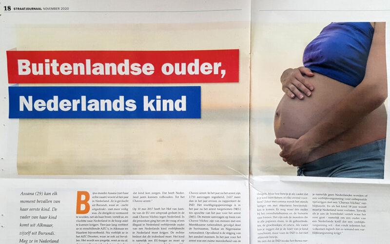 Buitenlandse ouder, Nederlands kind