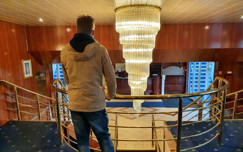 Cruiseschip wordt reddingsboot