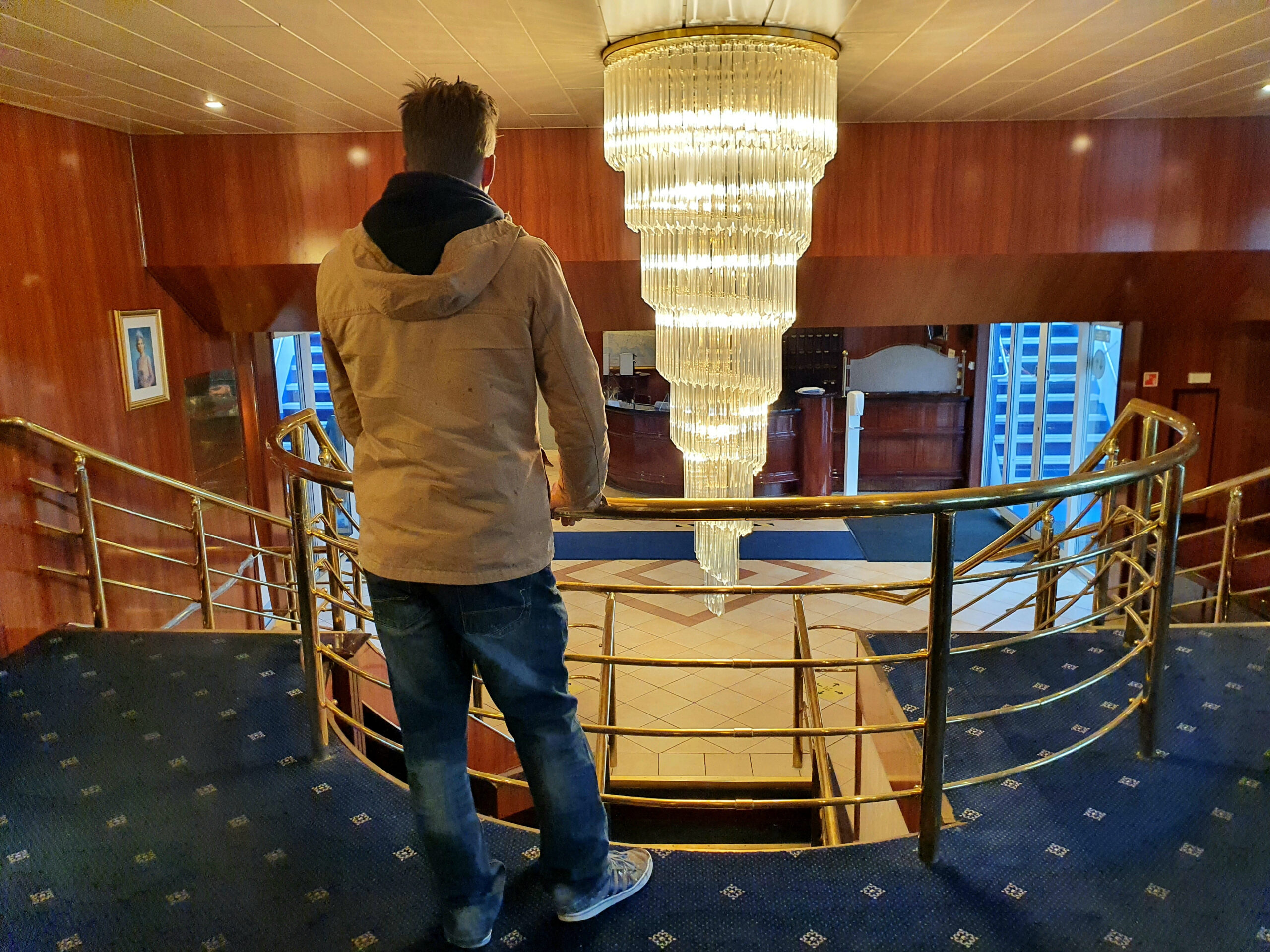 Cruiseschip wordt reddingsboot
